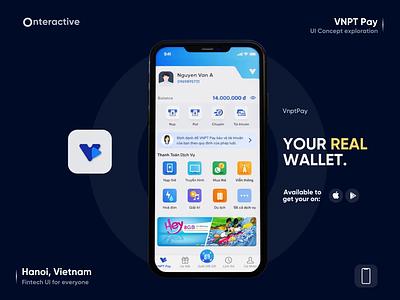 VNPT Pay - Digital Wallet 3D Animation fintech blender 3d animation 3d vnptpay onteractive cashless digitalwallet ewallet finance mobileapps payments transfer technology