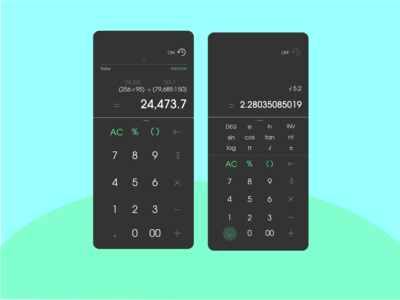 #DailyUI - Day 004 - Calculator