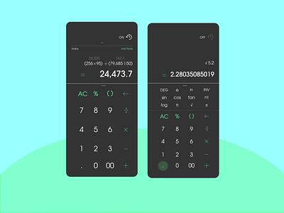 #DailyUI - Day 004 - Calculator uxdesign ux ui design ui dailyui