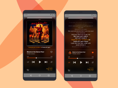 #DailyUI - Day 009 - Music Player