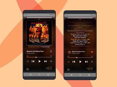 #DailyUI - Day 009 - Music Player musicapp music music player uxdesign ux ui ui design dailyui