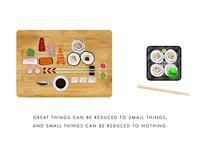 Sushi board 670