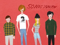 Sonic youth illustration nologo