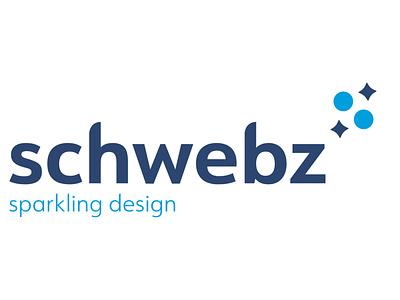 Logo Schwebz - Sparkling Design typography design logo vector branding agency