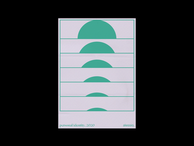 Minimal poster for personal branding alessia. minimal poster posters poster poster a day geometric design graphic deisgn daily poster geometry shapes