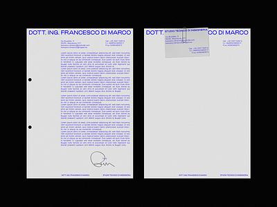Dott. Ing. Francesco Di Marco — Brand Identity brandinginspiration photoshop brandidentity corporate corporatedesign dribbble typography illustrator graphicdesign logotype logotypedesign visualidentity branding