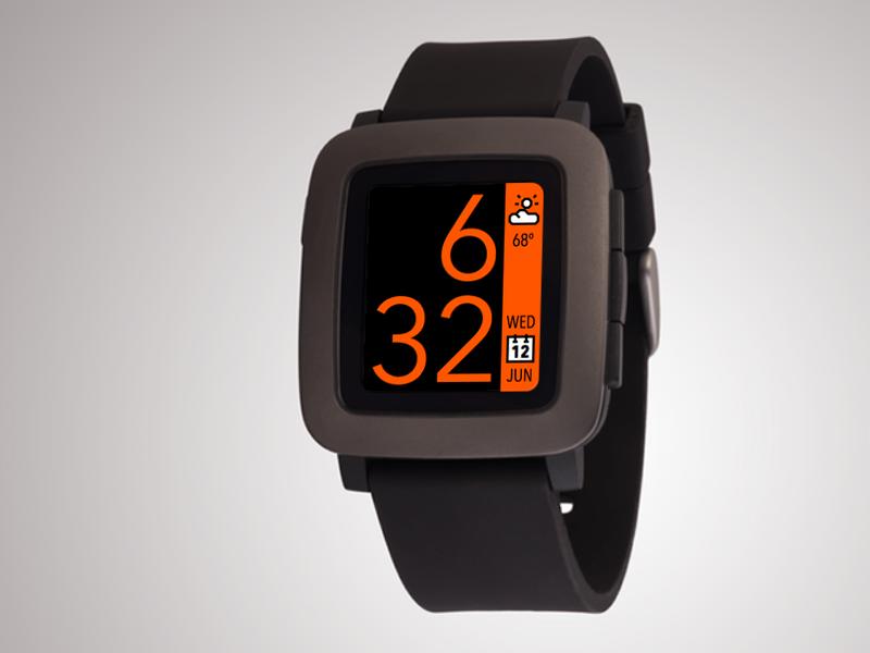 Pebble Time Watchface Concept time clock watchface watch smartwatch pebble pebble time