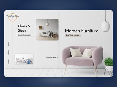 Furniture Store Website furniture furniture app uiux ux design ui design furniture website furniture store ui adobexd ux design photoshop biztechcs biztech