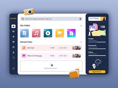 File Manager - Desktop Application graphic design uxdesign ux uidesign biztechcs biztech