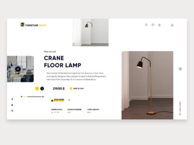 Furniture Online Store UI Design Concept