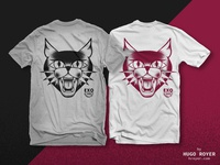 Evil Cat T-Shirt Design