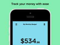 Pennies for iPhone – Tracker Screen