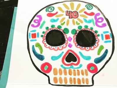Dia de los Muertos illustration flat design