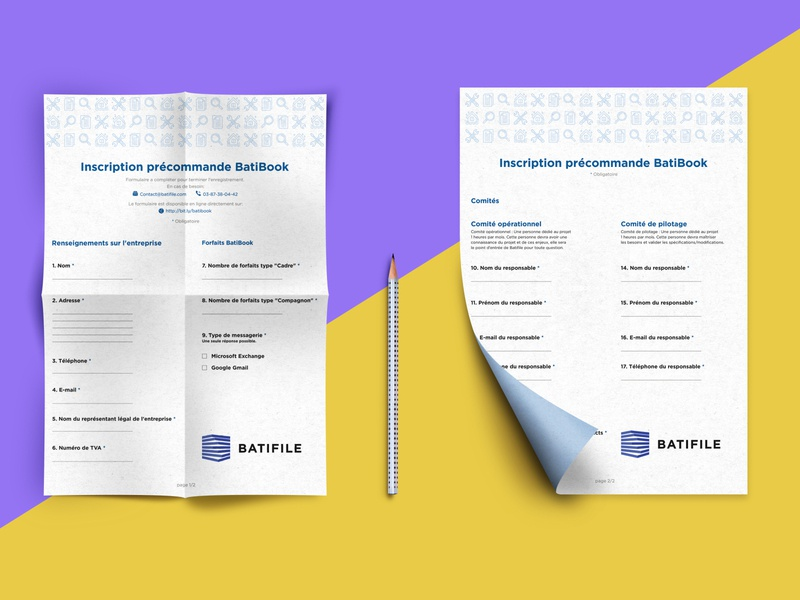 customer questionnaire for Batifile questionnaire brochure template brochure design poligraphy typography branding design