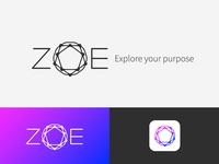 Unused Zoë logo concept V1