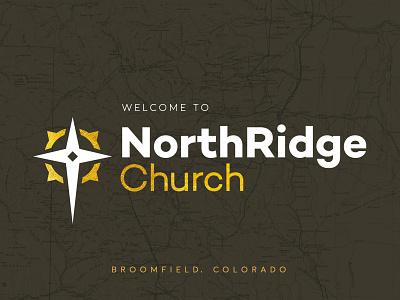 NorthRidge Church Final Logo christianity church branding logo ridge north metro cross denver compass colorado church christian