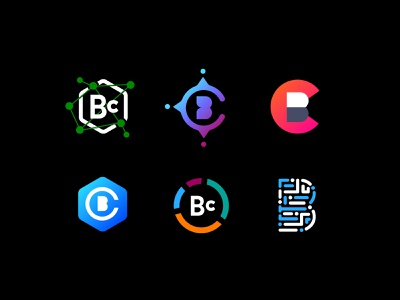 Banking Logo Concepts acronym logo branding fintech banking