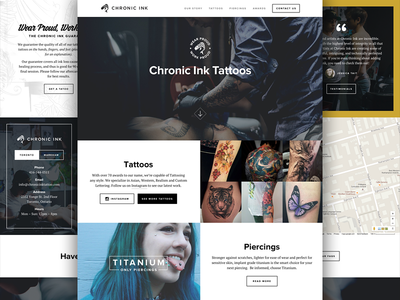 Chronic Ink Site