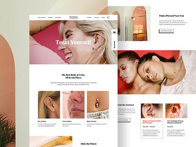 Pierced homepage dribbble 4x