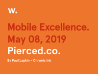 Pierced mobile certificate