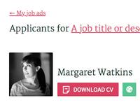 WIP Job applicants
