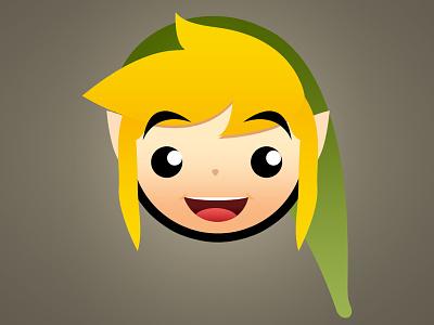 Zelda Dribbble link zelda nintendo layers vector drawing
