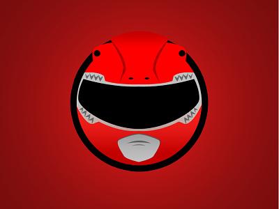 Red Ranger Minimal Web Sticker web sticker mmpr power ranger red ranger mighty morphin power ranger web sticker