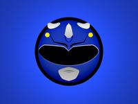 Blue Ranger Minimal Websticker
