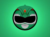 Green Ranger Minimal Websticker