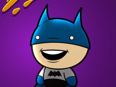 Batboy batman batboy vector cartoon