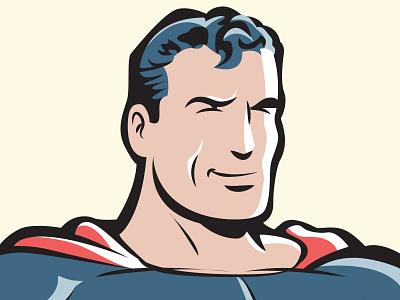 Vintage Superman  vector superman classic vintage classic superman vintage superman dc