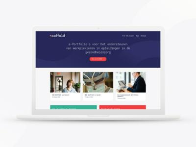 Scaffold website