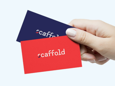 Scaffold business cards