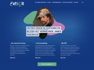 Ensor website