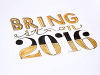 Bring it on 2016