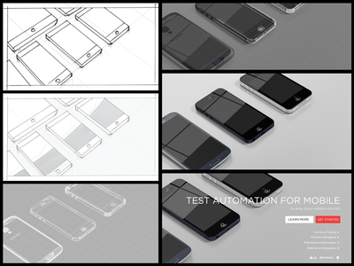 Phones Hero Image Process