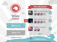 White elephant full