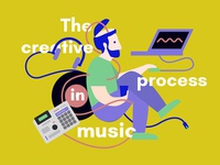 The creative process in music