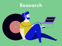 The creative process in music: Research