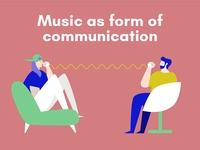 The creative process in music: Music as form of communication