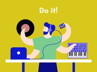 The creative process in music: do it!