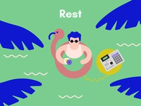 The creative process in music: Rest