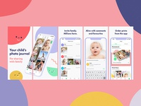 Lifecake App store Screenshots