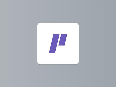 Letter P letter p brand design letter logo