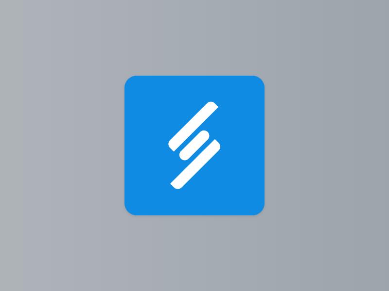 Letter S s logo letter design brand