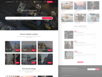 Directory Platform website webdesign web ui directory design