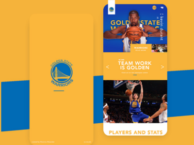 Golden State mobile design