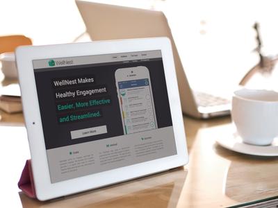 WellNest Landing Page Productshot