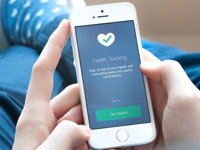 Wellness Health Tracking iOS App
