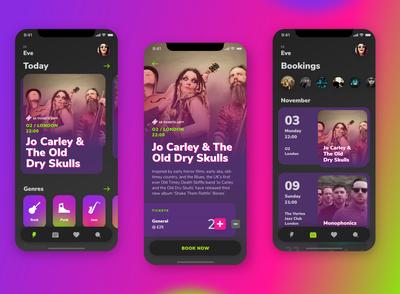 Music Events App